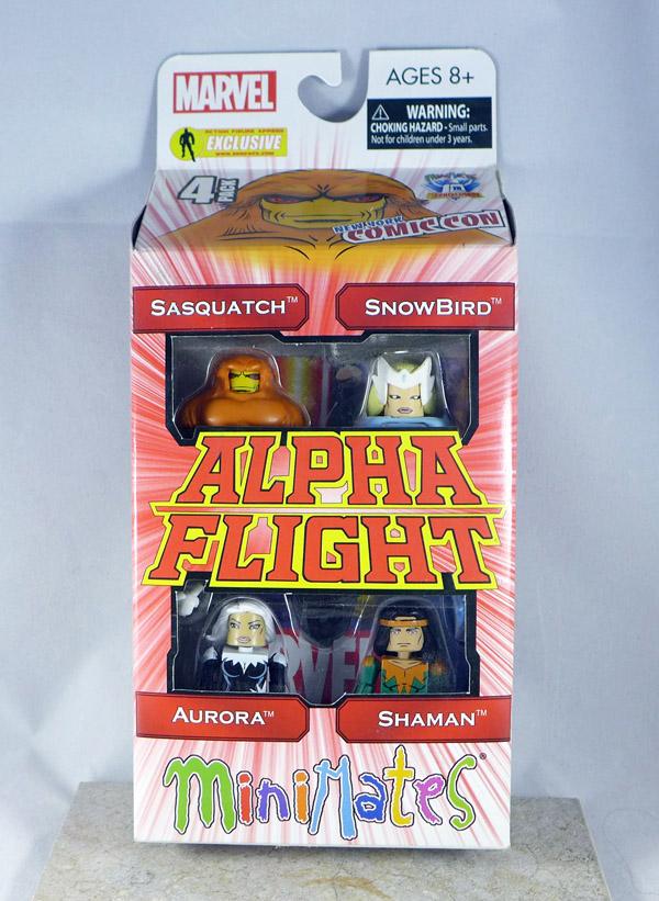 Alpha Flight Minimates Box Set 2