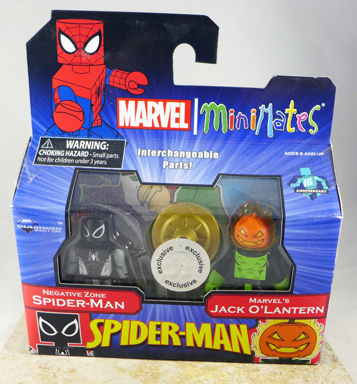 Negative Zone Spider-Man & Marvel's Jack O'Lantern Minimates (TRU Wave 26)