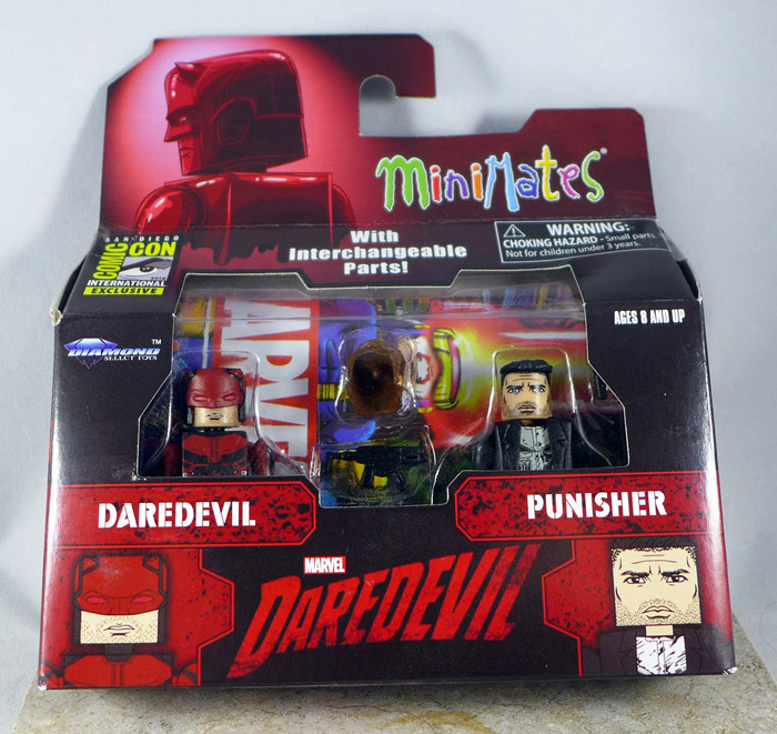 Daredevil & Punisher Minimates (SDCC 2016 Netflix Two Pack)