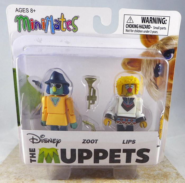 Zoot & Lips Minimates (Muppets Series 3)