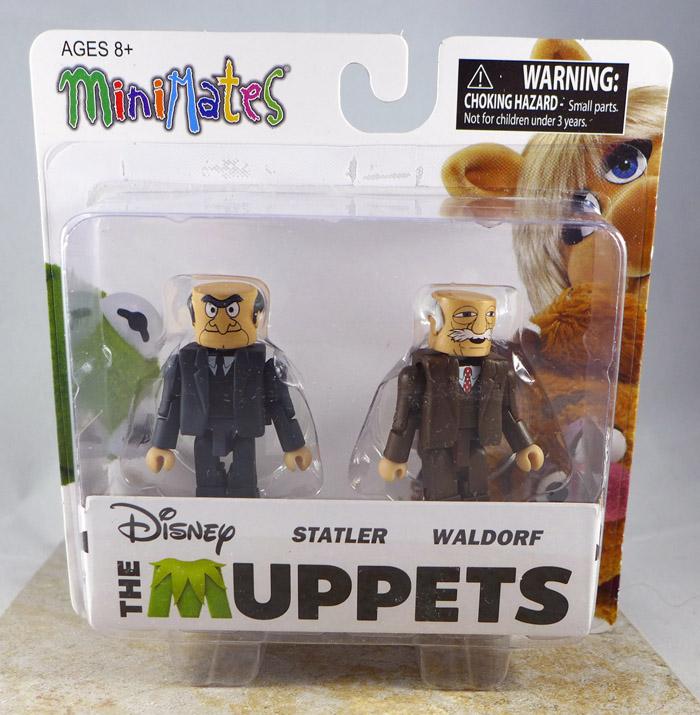 Statler & Waldorf Minimates (Muppets Series 2)