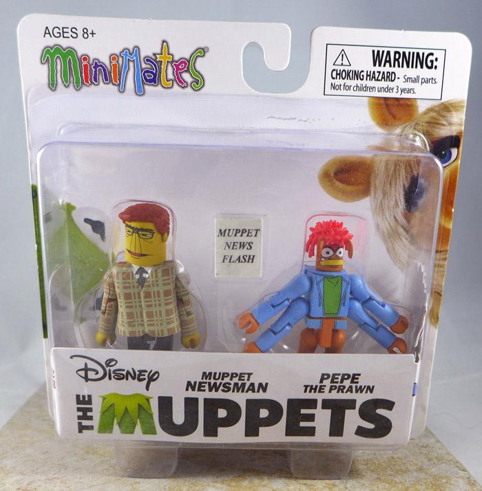Muppet Newsman & Pepe the Prawn Minimates (Muppets Series 3)