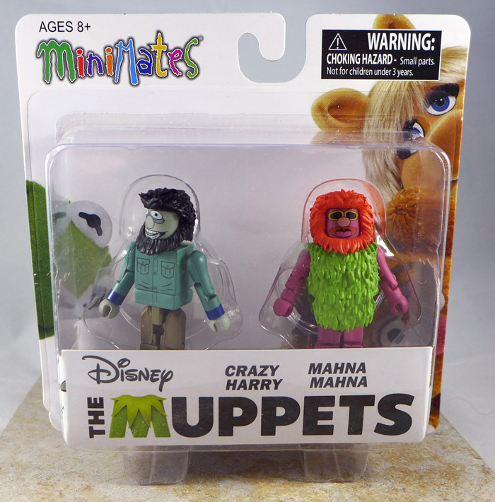 Crazy Harry & Mahna Mahna Minimates (Muppets Series 2)