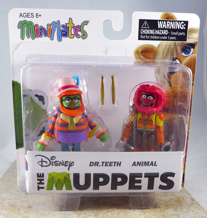 Dr. Teeth & Animal Minimates (Muppets Series 2)