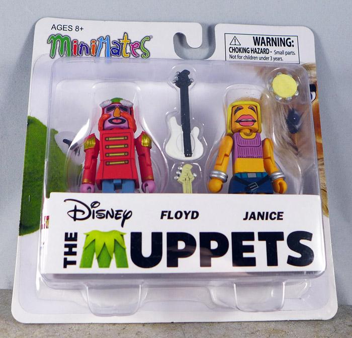 Floyd & Janice Minimates (Muppets Series 3)
