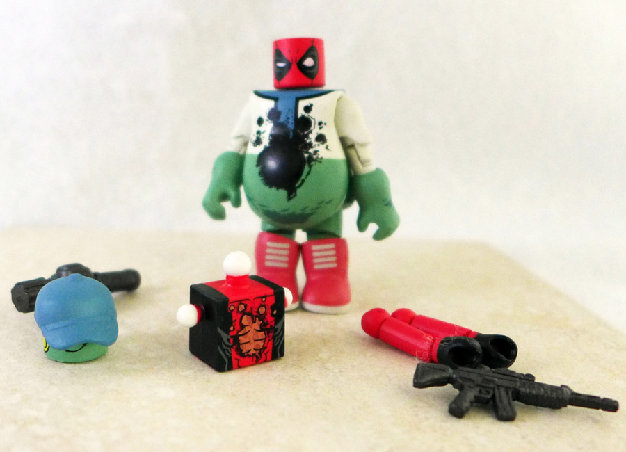 Mascot Deadpool Loose Minimate