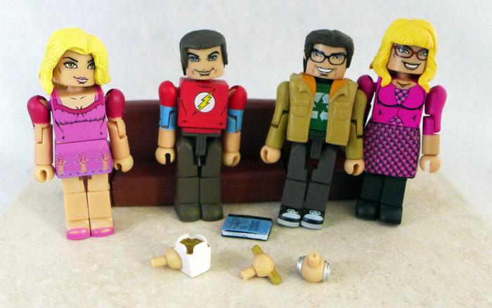 Big Bang Theory Loose Minimate 4-Pack