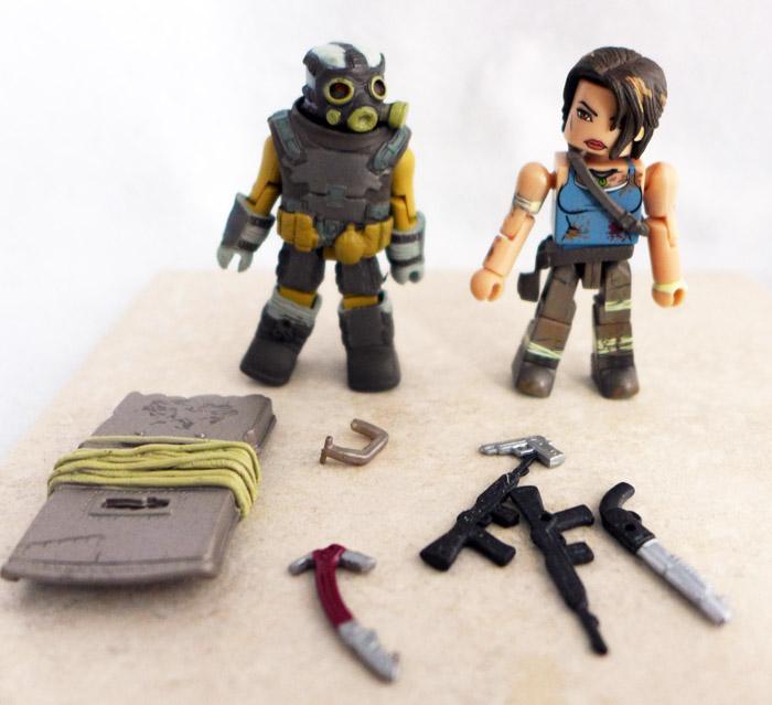 Lara Croft & Armored Scout Minimates