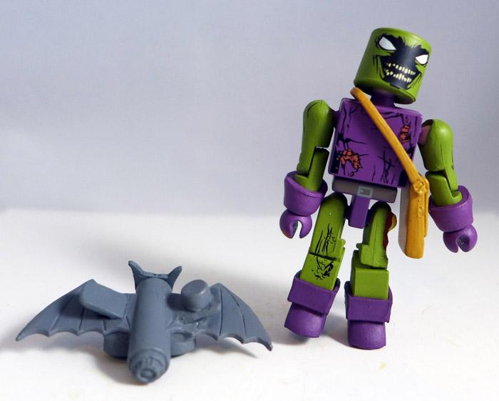 Zombie Green Goblin Partial Minimate