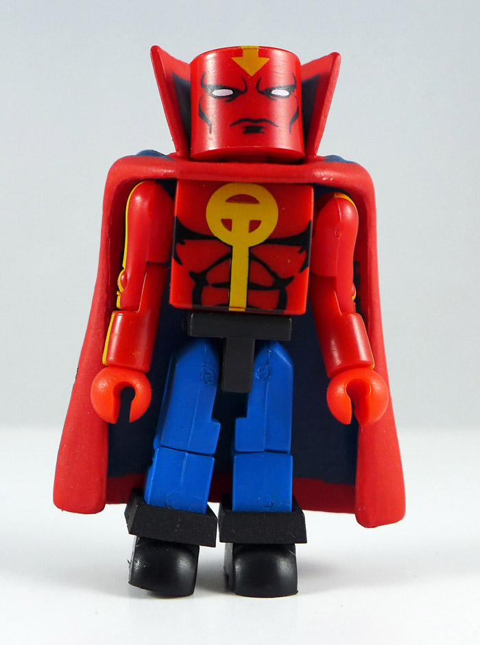 Casual Red Tornado Loose Minimate