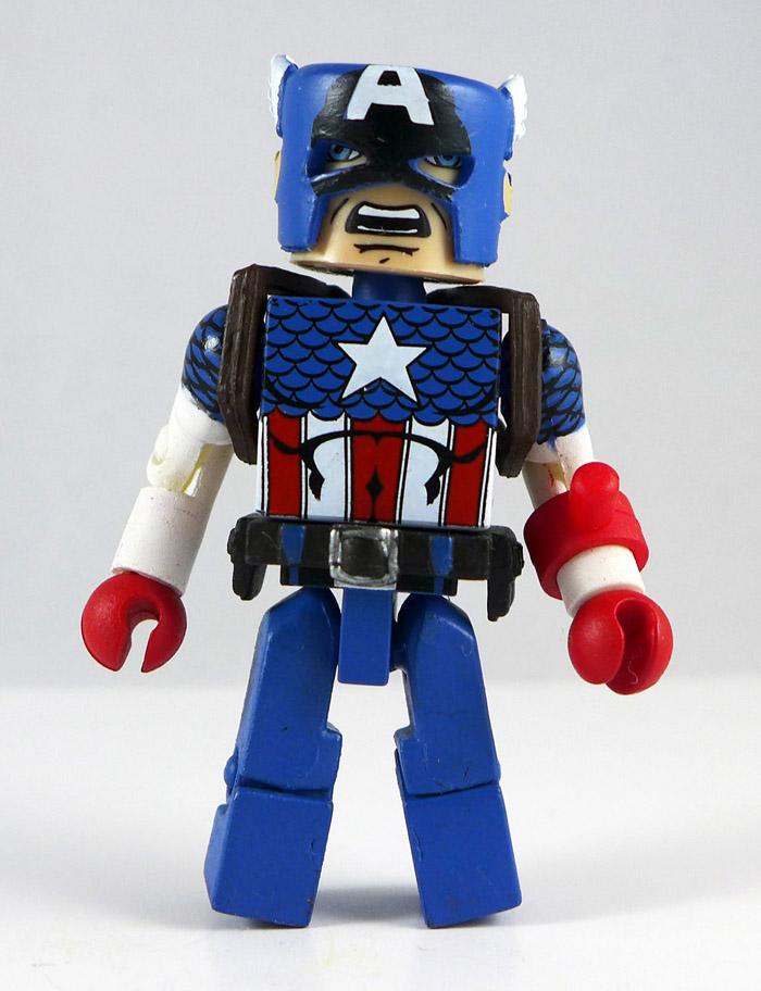 Captain America Partial Minimate