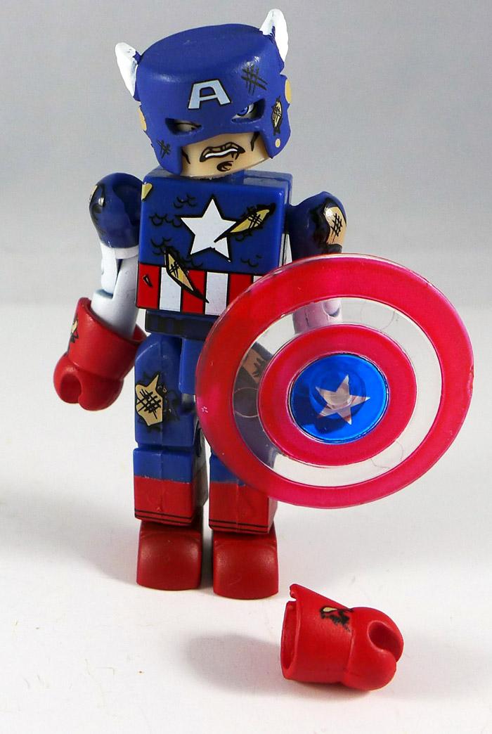 Battle Damaged Captain America Minimate