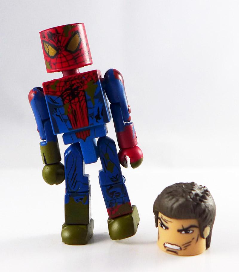 Sewer Battle Spider-Man Loose Minimate