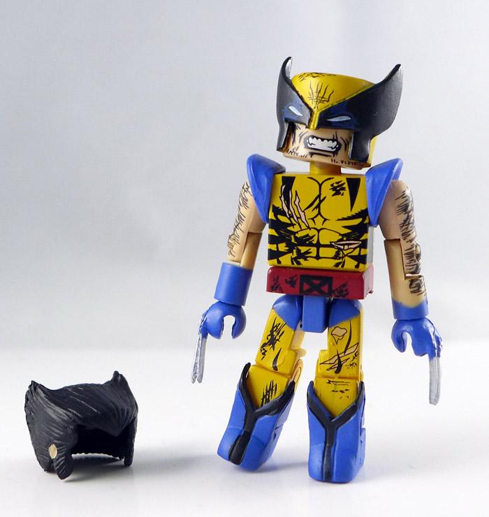 Battle Damaged Wolverine Loose Minimate