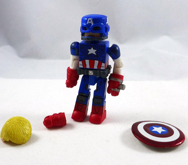 Modern Captain America Loose Minimate