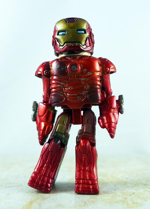 Battle Damaged Iron Man Loose Minimate