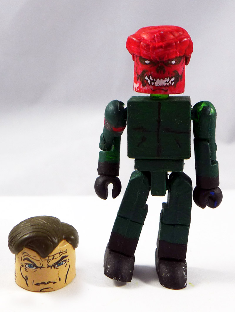 Custom Painted Red Skull Minimate
