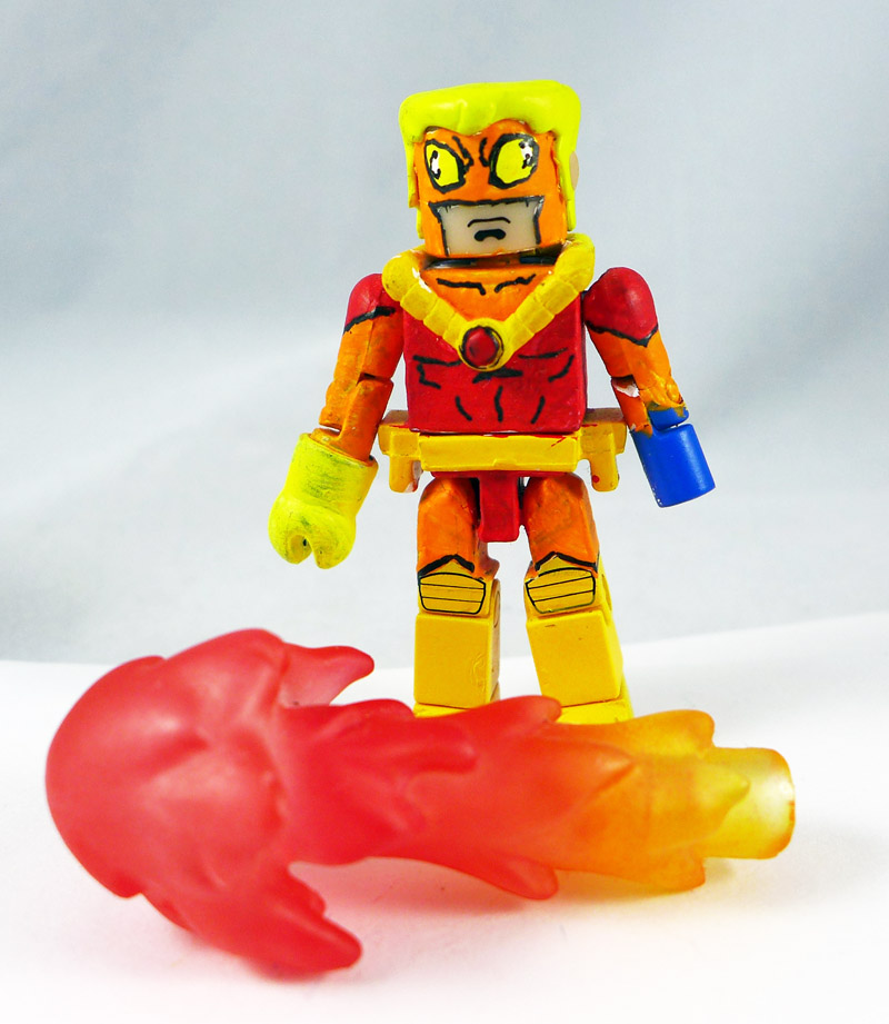 Custom Painted Pyro Minimate
