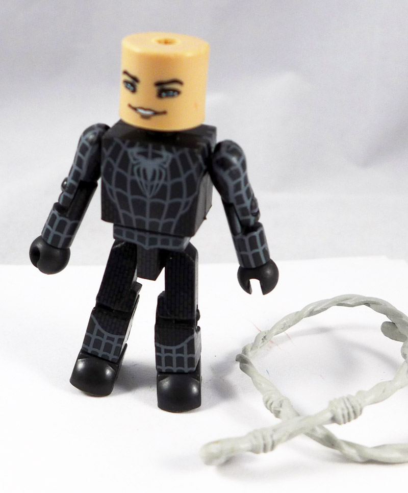 Black Suit Spider-Man Partial Minimate