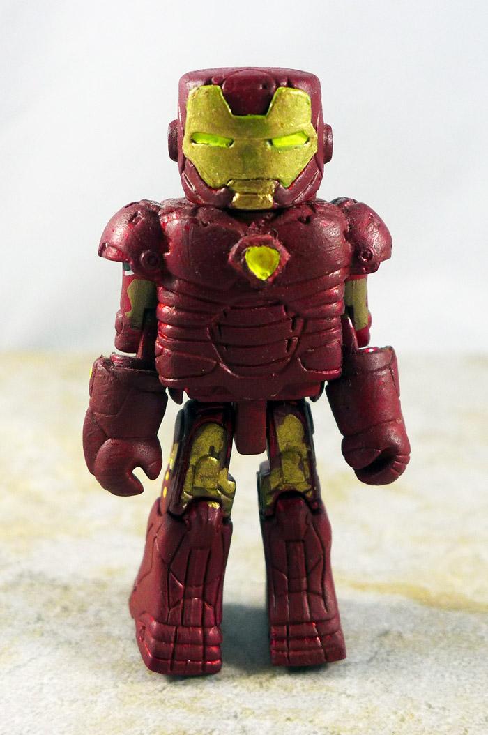 Custom Painted Iron Man Loose Minimate