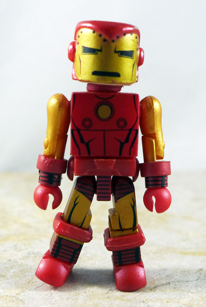 Bolt Face Iron Man Loose Minimate