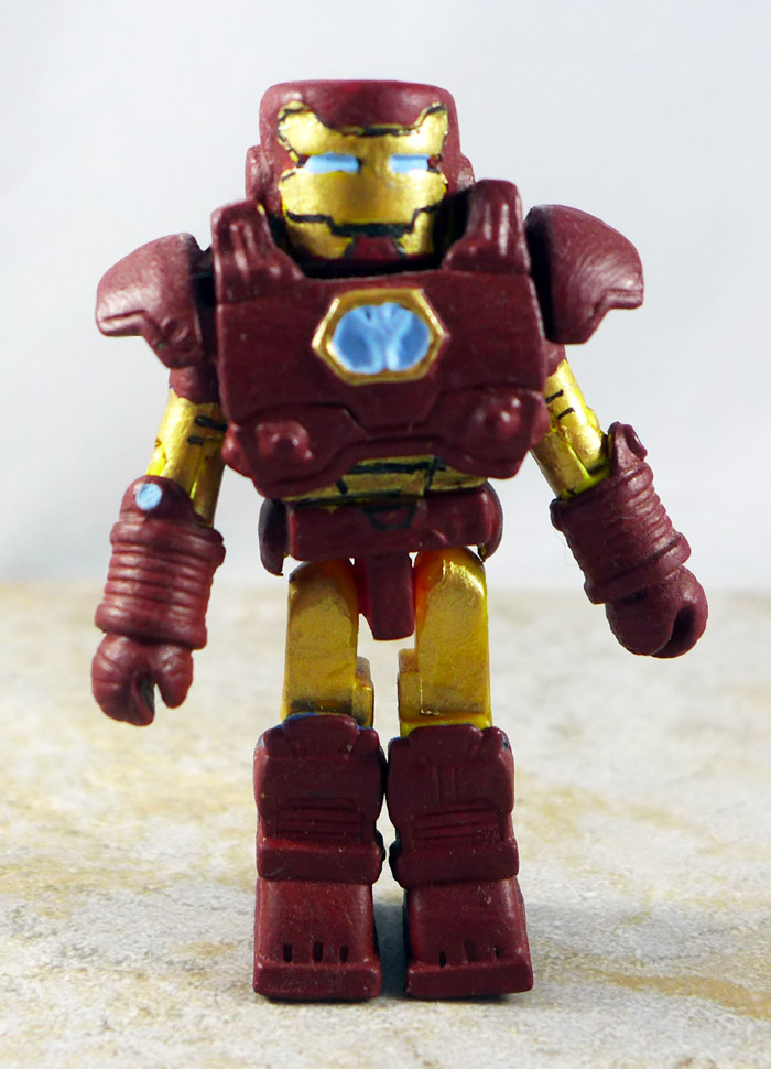Custom Painted Iron Man Loose Minimate