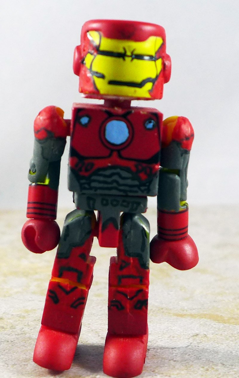 Custom Battle Damaged Iron Man Loose Minimate