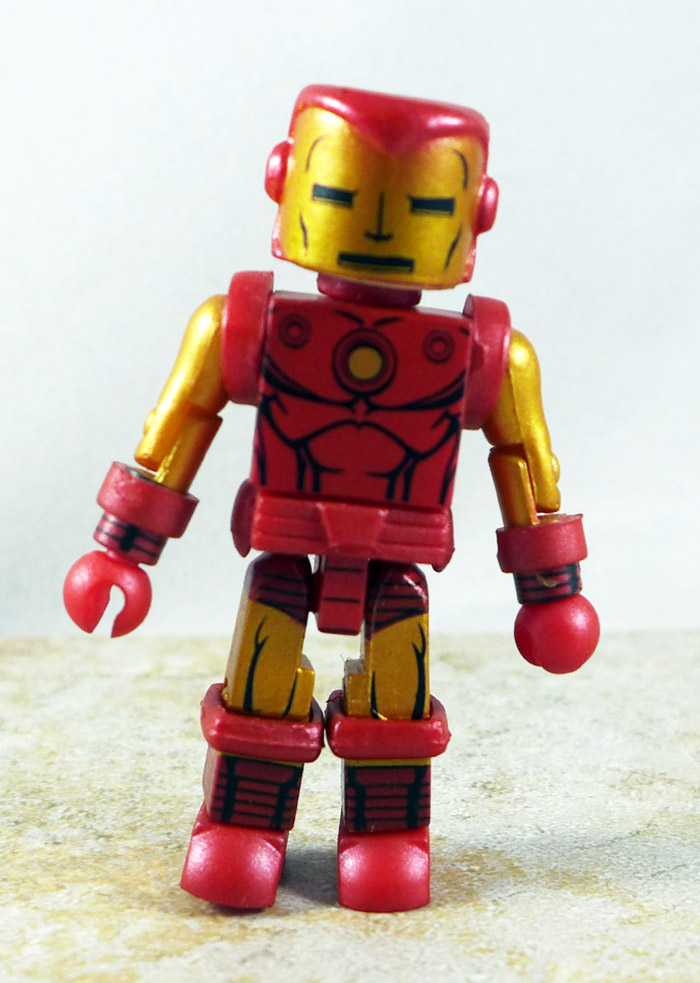Bolt Face Iron Man (alt helmet) Loose Minimate