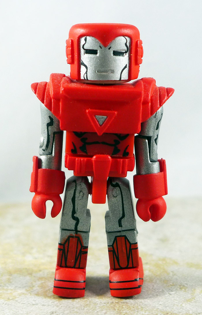 Silver Centurion Iron Man Loose Minimate