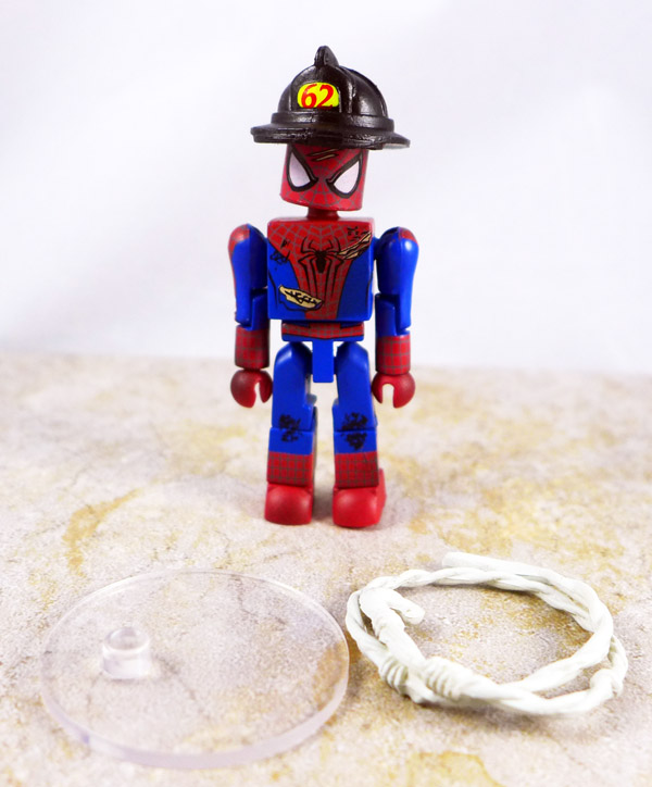 Fire Fighter Spider-Man Loose Minimate