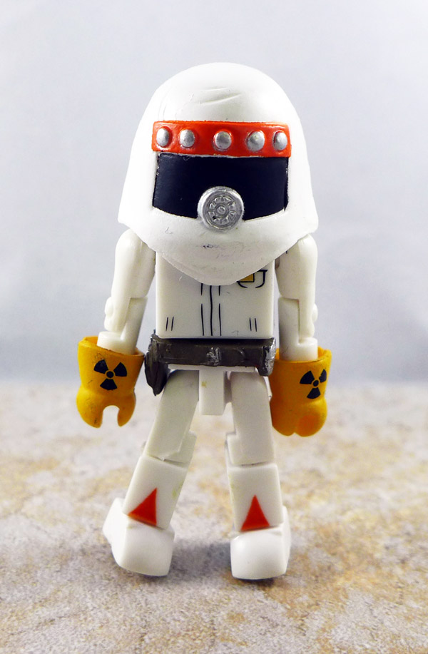 Radiation Suit Doc Brown (No Doc Brown Head) Minimate
