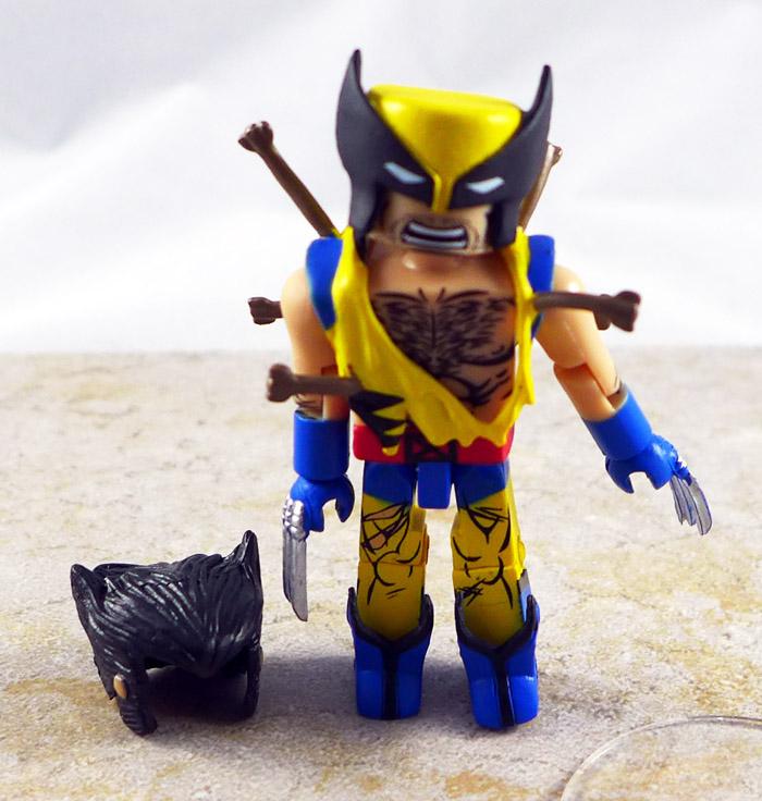 Ninja Attack Wolverine Loose Minimate (Wave 72)