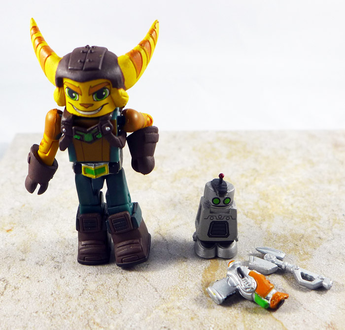 Ratchet Loose Minimate (TRU Playstation Wave 1)
