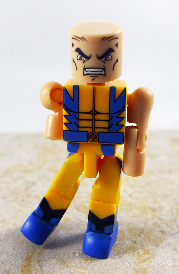 Custom Partial Wolverine Loose Minimate (Wave 13)