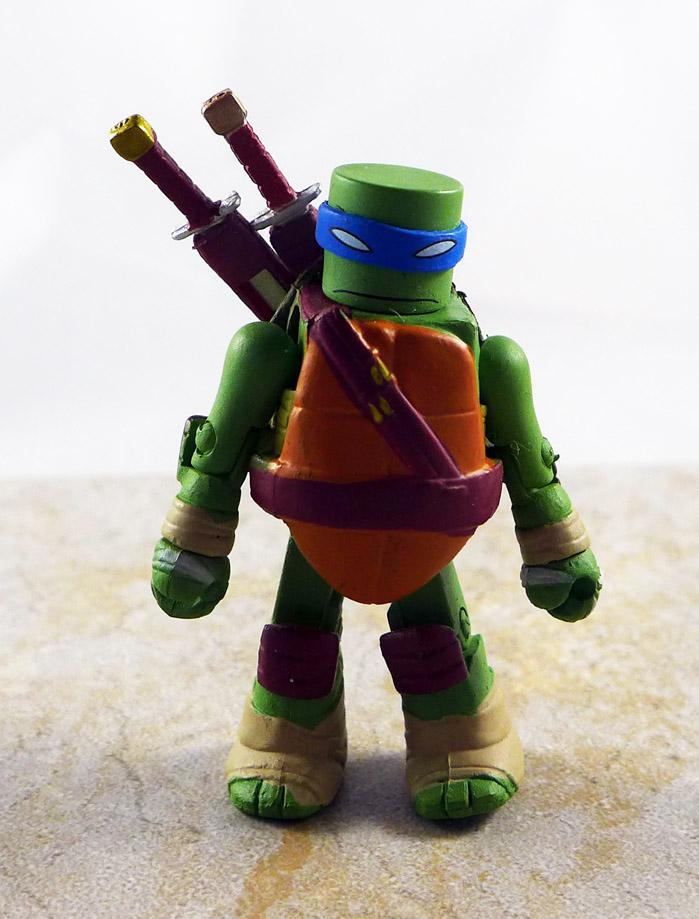 Sewer Leonardo Partial Loose Minimate (TMNT Blind Series 2)