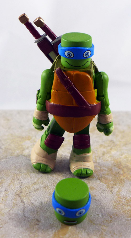 Fanboy Leonardo Partial Loose Minimate (TMNT Blind Series 5)