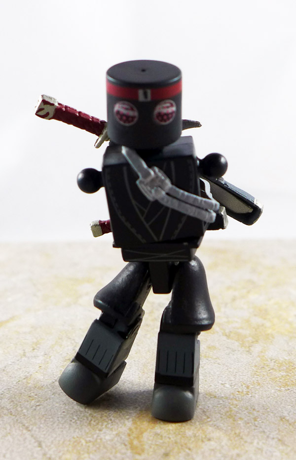 Foot Soldier Partial Loose Minimate (TMNT Blind Series 1)