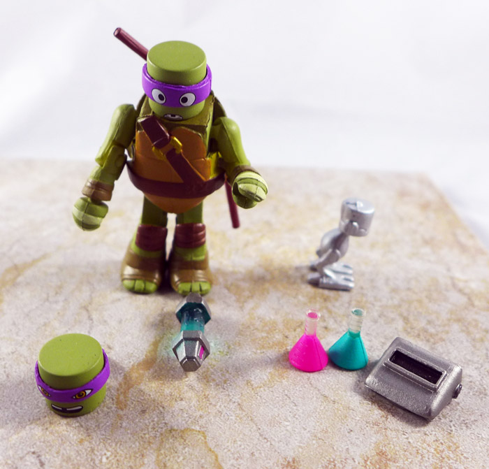 Inventor Donatello Loose Minimate (TMNT Blind Series 5)