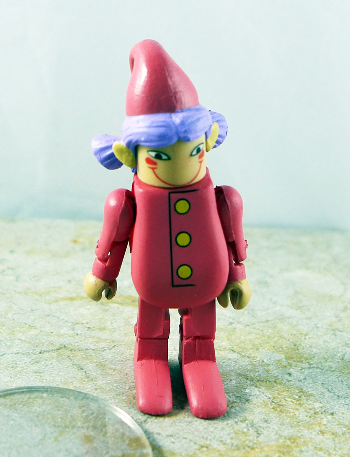Pink Elf Loose Minimate (Nightmare Before Christmas TRU Series 1)
