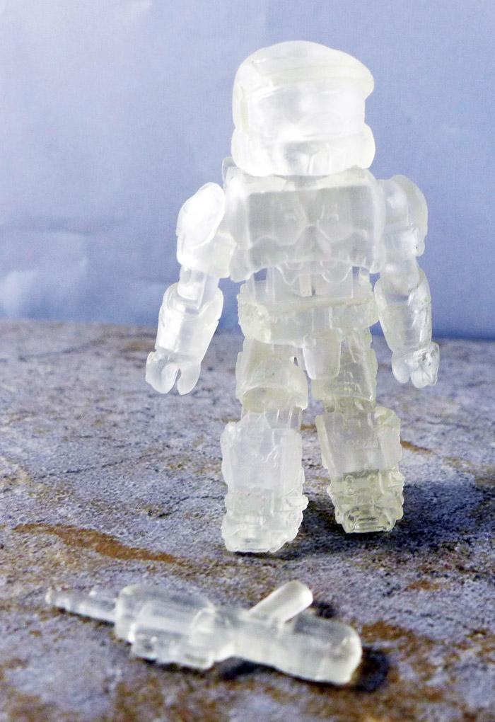 Spartan ODST (Active Camo) Loose Minimate (Halo TRU Series 1)