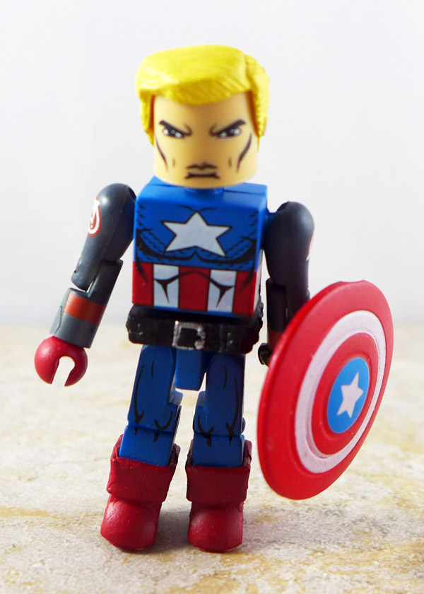 Civil War Captain America Partial Custom Loose Minimate (Wave 42)