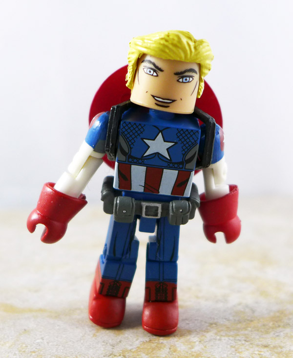 Captain America Custom Loose Minimate (Wave 27)