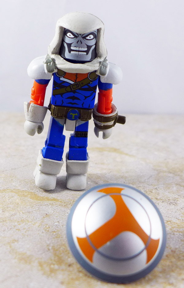 Taskmaster Partial Loose Minimate (Marvel vs. Capcom TRU Wave 2)