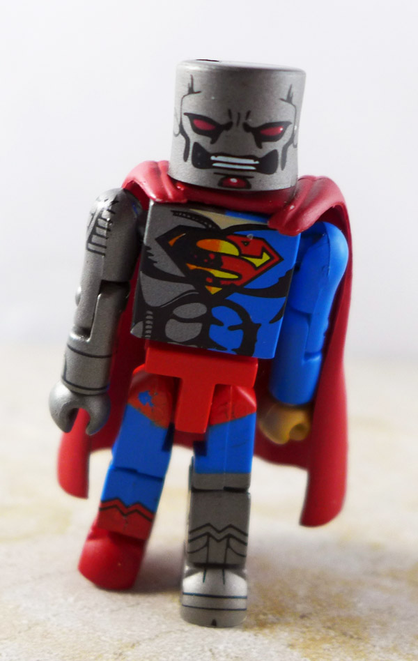 Cyborg (Superman) Partial Loose Minimate (DC Minimates Series 4)