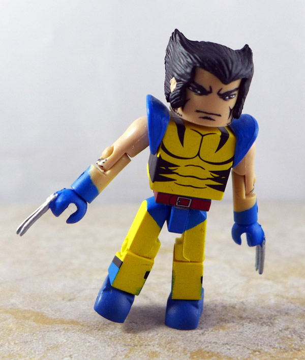 Secret Invasion Wolverine Custom Partial Loose Minimate (Secret Invasion Box Set)