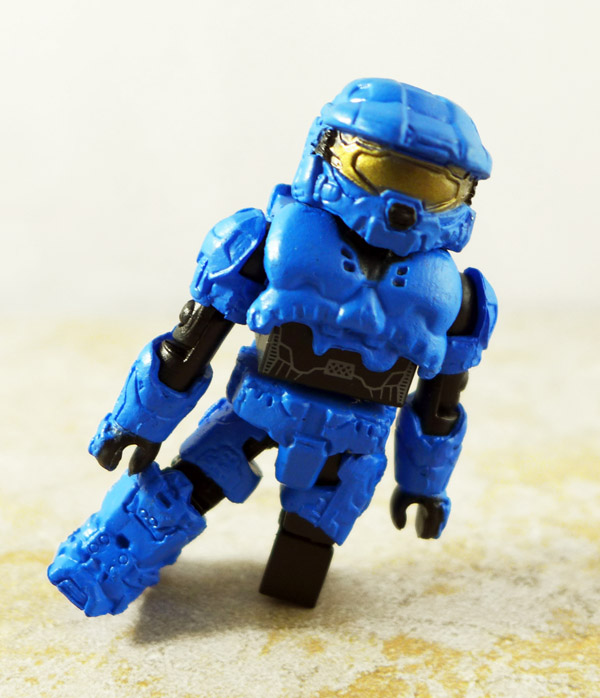 Spartain Mark VI (Blue) Partial Loose Minimate (TRU Halo Series 3)