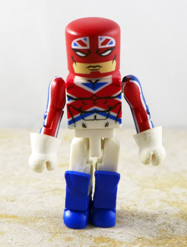 Captain Britain Partial Loose Minimate (Wave 31)