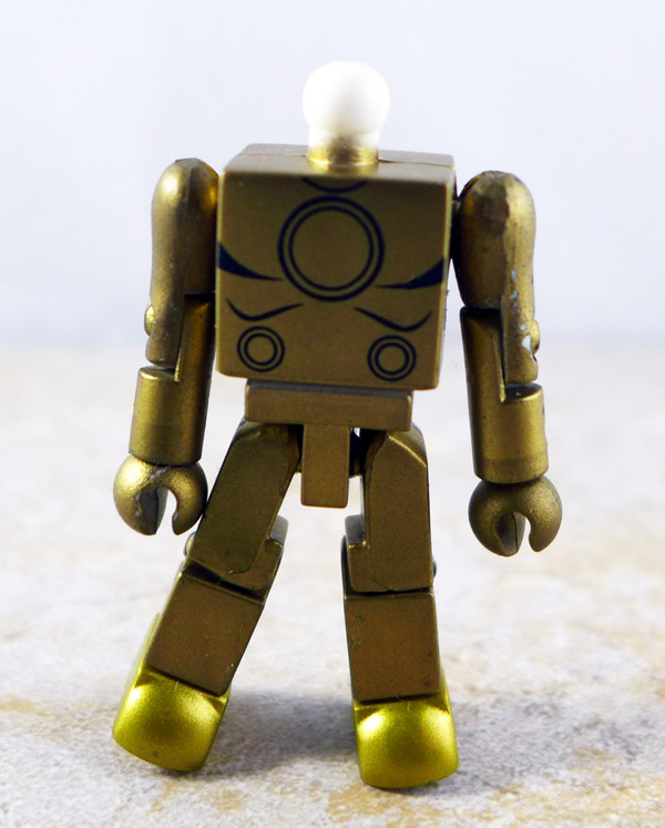 Golden Armor Iron Man Partial Loose Minimate (Avengers Box Set)