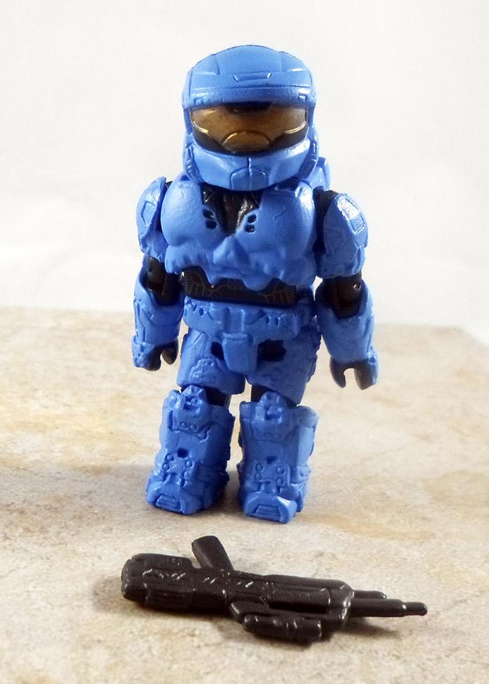 Spartan ODST (Blue) Loose Minimate (HaloTRU Series 2)