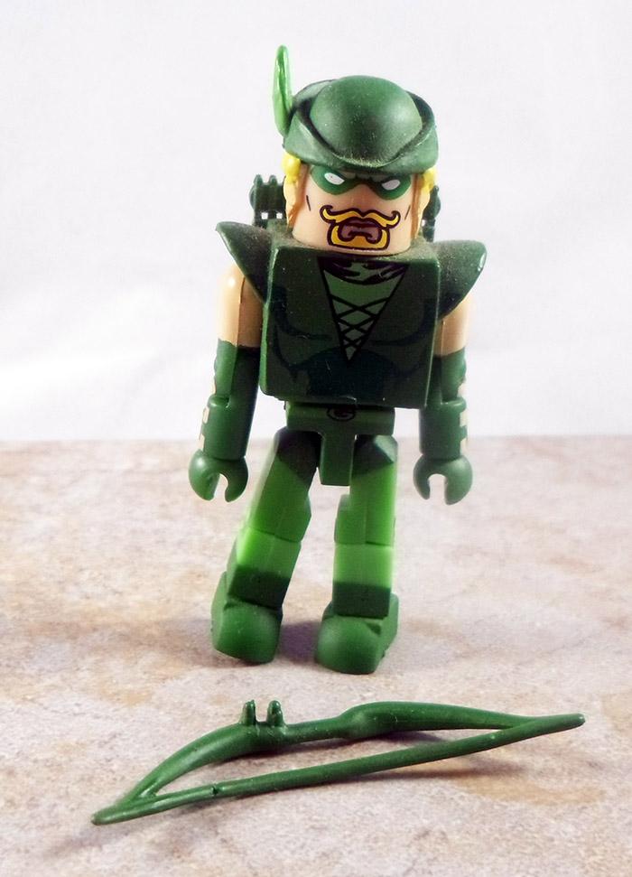 Green Arrow Partial Loose Minimate (DC Minimates Series 3)